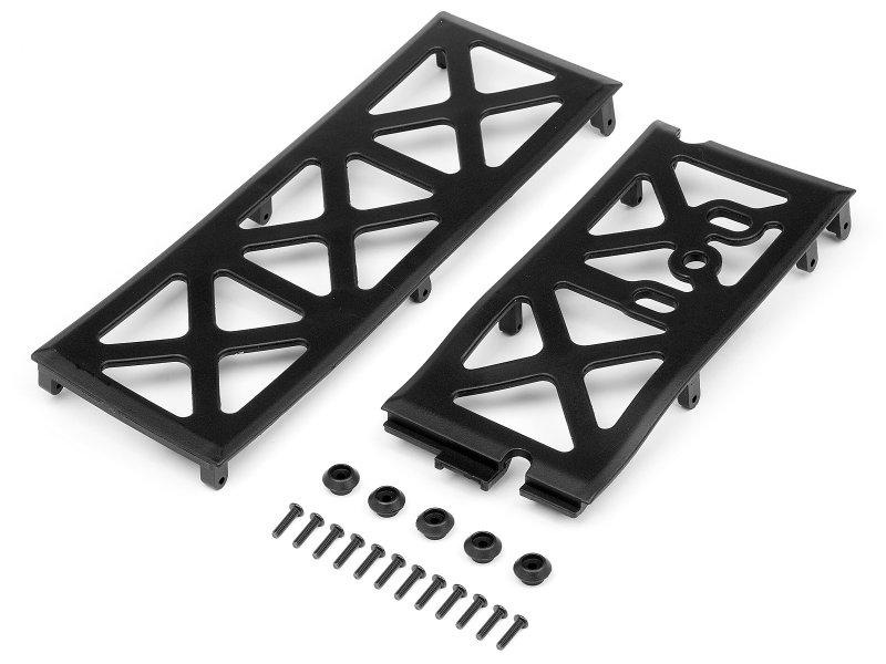 NEW HPI Super 5SC Flux Front Skid Plate Set 106285