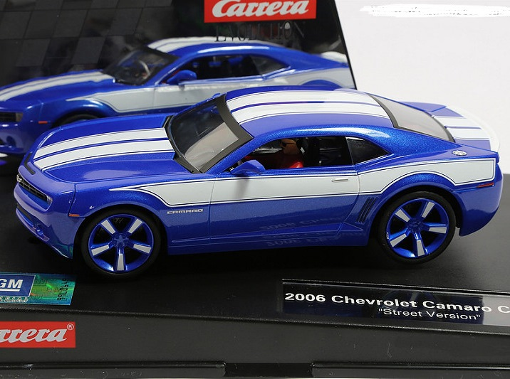 Carrera 27462 Chevy Camaro Concept Evolution Slot Car 132