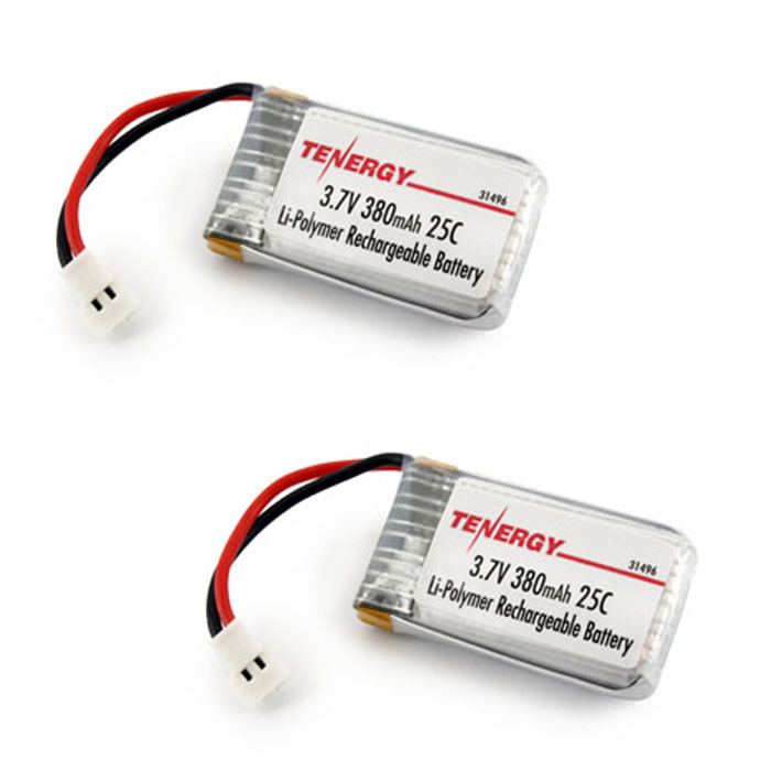 3 7v 380mah Lipo Battery With X4 Battery Charger For