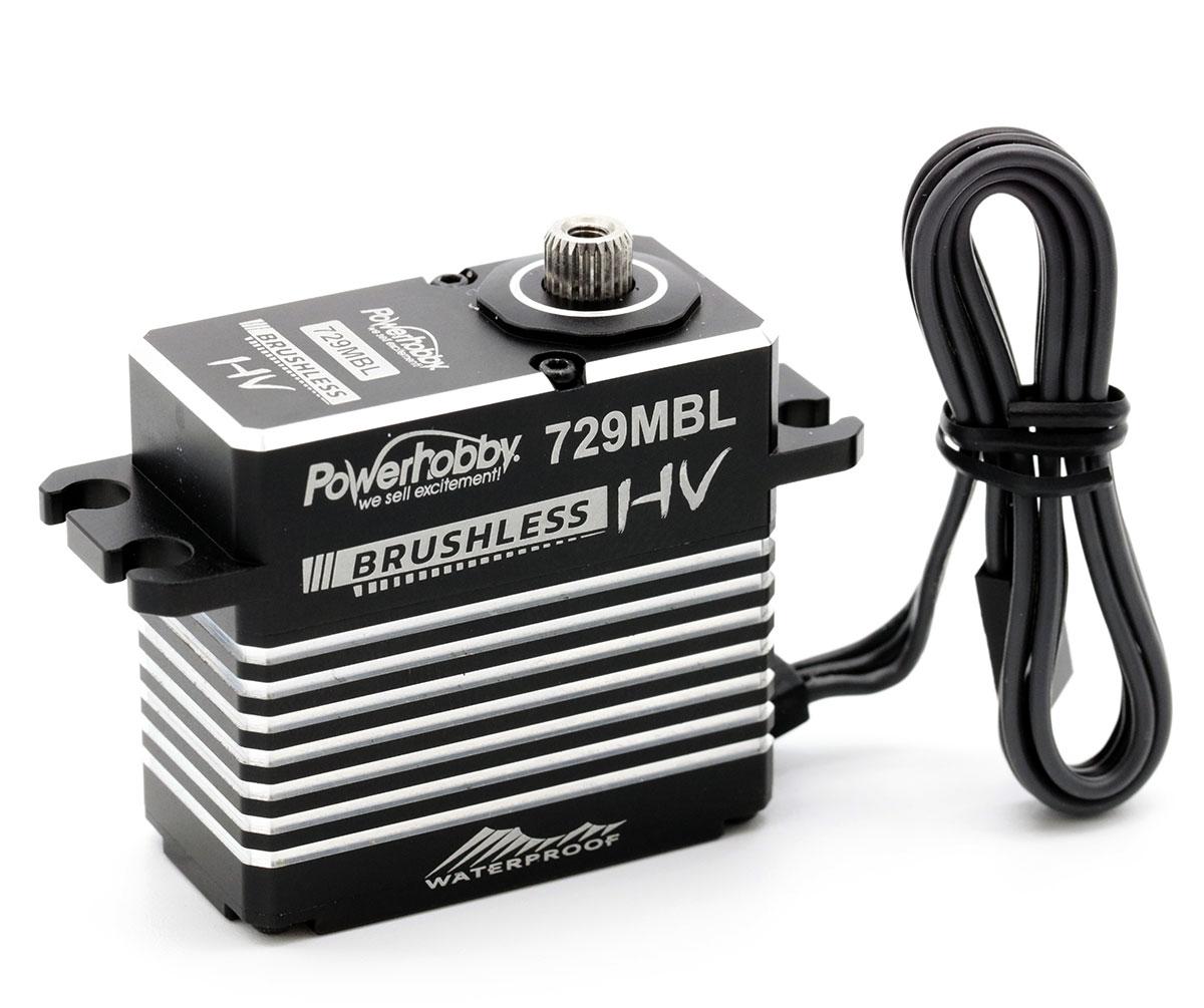 Powerhobby 729MBL HV Waterproof Brushless Steel Gear Servo 1//8 Buggy