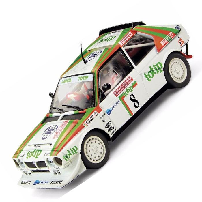 scx scalextric totip lancia delta intergrale s4 rally slot car 1/32