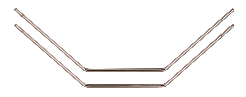 2 Team Associated 31262 Roll Bars 1.55mm Silver TC5 TC5F TC5R