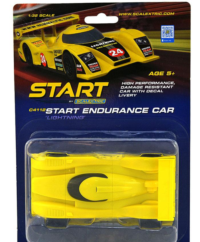 SLOT CAR SCALEXTRIC START Endurance Lightning