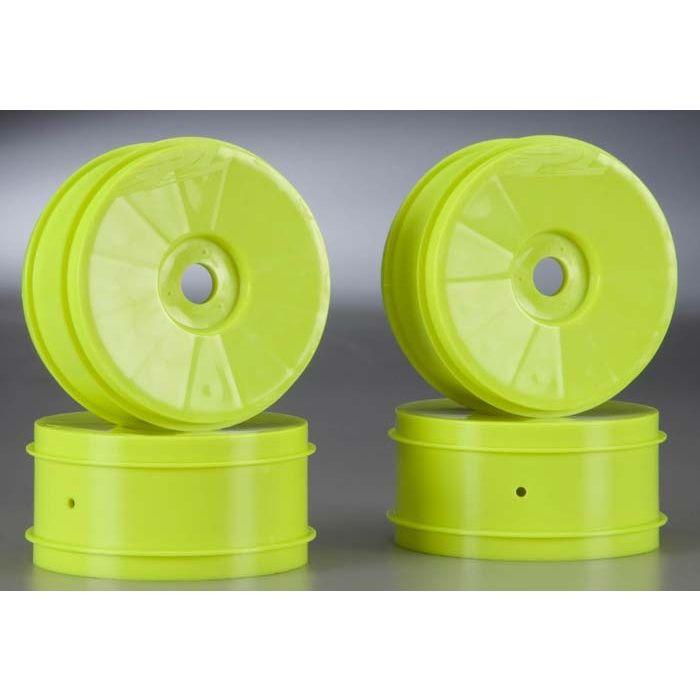 Proline 270202 Velocity V2 Wheel Yellow 1//8 Buggy 4
