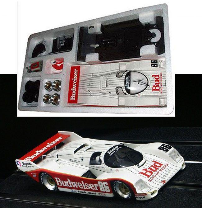 BRM Porsche 962C IMSA Budweiser KIT 1/24 Slot Car BRM007