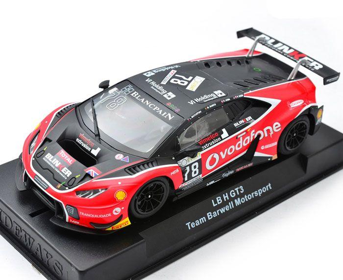 Elektrisches Spielzeug Kinderrennbahnen Racer Sideways Swcar01e Lamborghini Huracan Lbh Gt3 #78 Vodafone Team Barwell