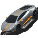 Carrera 64099 GO!!! Lamborghini Huracan LP 610-4 Avio 1/43 Scale slot car