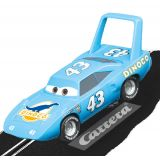 Carrera 64107 GO!!! Disney Pixar Cars Strip The King Weathers 1/43 Scale slot car