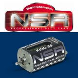 NSR 3015 King 1/32 Slot Car Long Can 38,500 RPM Motor 38K