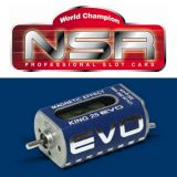 NSR 3026 King Evo Long Can 25,000 RPM Motor 1/32 Slot Car 25K