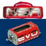 NSR 3030 King Evo Long Can 50,000 RPM Motor 1/32 Slot Car 50K