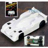 AFX 22009 Audi R18 White Unpainted Mega G+ HO Slot Car AFX22009 MegaG+