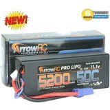 ArrowRC 3S 11.1V 5200mAh 50C Lipo Battery Pack w EC5 Plug 3-Cell Hard Case