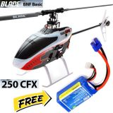 Blade BLH4480 250 CFX BNF Basic Helicopter w/ SAFE Technology Free Lipo battery