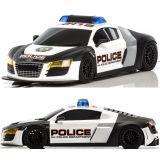 Scalextric C3932 Audi R8 Police Car Siren flashing  lights 1/32 Slot DPR
