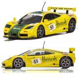 Scalextric C4026 McLaren F1 GTR Harrods Le Mans 1995 1/32 Slot Car DPR