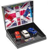 Scalextric C4030A Mini Diamond Edition Commemorative Triple Pack 1/32 Slot Car