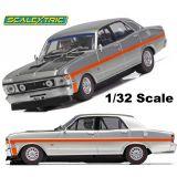 Scalextric C4037 Ford Falcon XW Silver Fox 1/32 Slot Car DPR