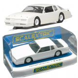 Scalextric C4072 Chevy Monte Carlo 1986 White Unpainted Slot Car