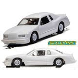 Scalextric C4077 Ford Thunderbird White Unpainted 1/32 Slot Car DPR