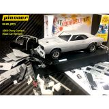 Pioneer 1968 Chevy Camaro White Kit Scalextric DPR Slot Car 1/32