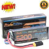 Powerhobby 3s 11.1v 5200mah 50c Lipo Battery w XT60 Plug + Traxxas Adapter