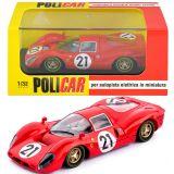 Policar Ferrari 330 P4 2nd Le Mans 1967 1/32 Slot Car CAR06a