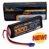 Powerhobby 3s 11.1v 3300mah 50c-100C Lipo Battery w EC3 Plug