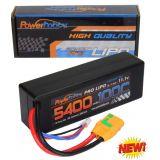 Powerhobby 3s 11.1v 5400mah 100c lipo Battery w XT90 Plug Hard Case