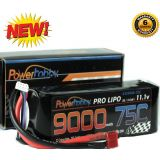 PowerHobby 3S 11.1V 9000mAh 75C Lipo Battery Pack w Deans Plug 3-Cell