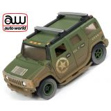 Auto World Hummer H2 Xtraction R24 Off Road AFX Ho Scale Slot Car SC335