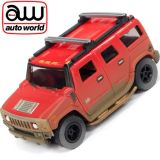 Auto World Hummer H2 Xtraction Off Road AFX Ho Scale Slot Car SC335