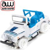 Auto World iWheel Jeep CJ-5 Xtraction Off Road AFX Ho Scale Slot Car SC335
