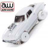 Auto World iWheels Corvette Coupe Thunderjet R23 Coffe AFX Ho Scale Slot Car