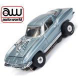 Auto World Thunderjet Chevy Corvette Coupe AFX Ho Scale Slot Car SC336