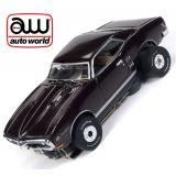 Auto World Pontiac Firebird Thunderjet R23 Coffe AFX Ho Scale Slot Car SC336
