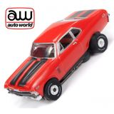Auto World Chevrolet Nova Thunderjet R23 AFX Ho Scale Slot Car SC336