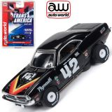 Auto World Plymouth Cuda Dan Gurney Thunderjet AFX Ho Slot Car SC338