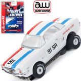 Auto World Ford Mustang Hayward Trans America Thunderjet AFX Ho Slot Car