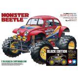 Tamiya 47419 1/10 Monster Beetle Black