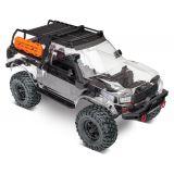 Traxxas 82010-4 1/10 4wd TRX-4 Sport Truck Unassembled Kit /Pre-Cut Clear Body