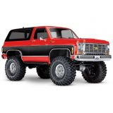 Traxxas 82076-4_Red 1/10 Scale 4WD RTD TRX-4 Scale and Trail Crawler