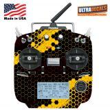 FUTABA 14SG Protector Wraps Skin Carbon Orange V2