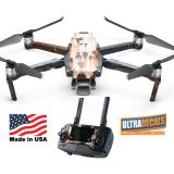 DJI Mavic 2 Pro Zoom Skin Wrap Decal Sticker Rusted Paint Battery Body Ultradecals