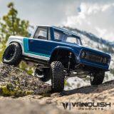 Vanquish VPS09003 VS4-10 Pro Clear Anodized Origin Halfcab