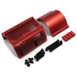 Yeah Racing YA-0600RD Aluminum Heat Sink For 1/8 Motors Red