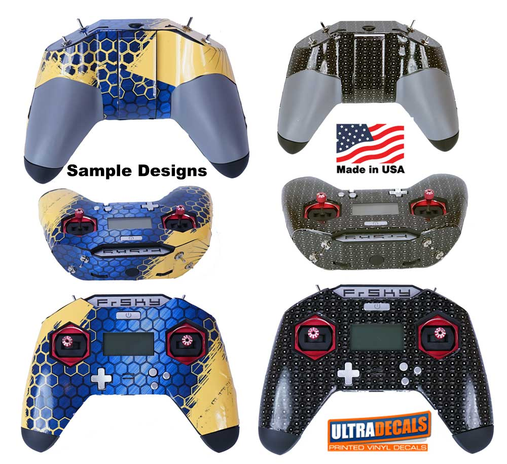 Details about Fire Flames Frsky X-Lite Transmitter Skin Wrap Controller  Radio Decal