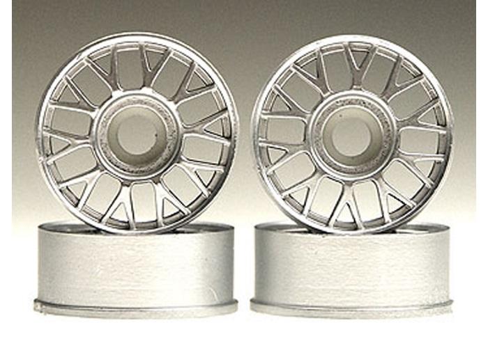 Kyosho MZ14AM Silver Impreza Wheel Set MINI-Z Series
