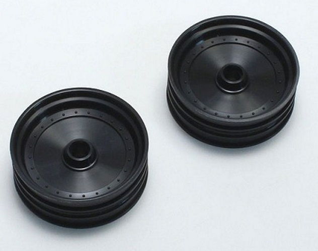 Scorpion XXL 2 Kyosho SXH001BK Black Front Wheel Set