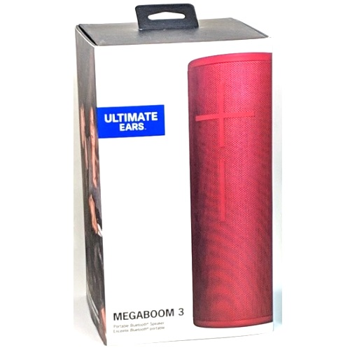 Details about Ultimate Ears UE Megaboom 3 Sunset Red Waterproof Bluetooth  Speaker